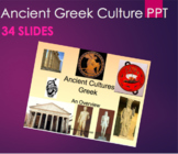 Greek - Ancient Cultures Introduction PPT
