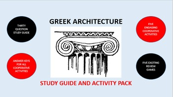 Ancient Greek Architecture: Study Guide and Activity Pack
