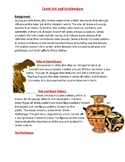 Greek Art and Architecture worksheet