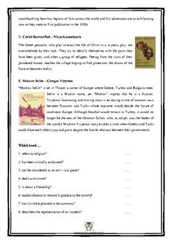Greek Books - Reading