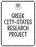 Greek City-States Research Project