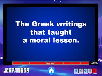 Greek Civilization - History Game