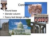 Greek Column Architecture Power Point