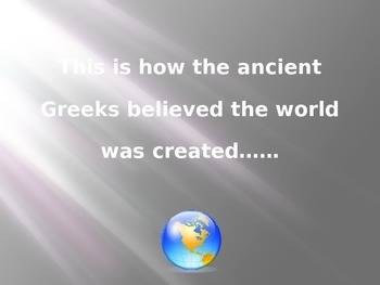Greek Creation Story PowerPoint