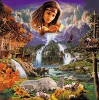 Greek Creation of the World-Greek Mythology Reading and Lesson Bundle