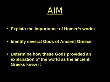 Greek Culture and Myths Powerpoint