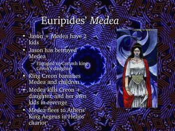 Greek Drama:  Before, During and After Medea by Euripides