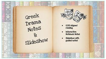 Greek Drama Slideshow and Notes