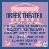 Project Based History/Literacy: Greek Theater Unit (6-8)