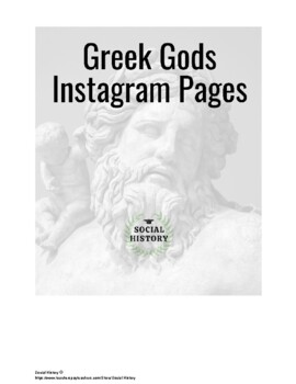 Greek God Olympians Instagram Pages