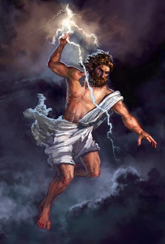 Greek God Poster Handout