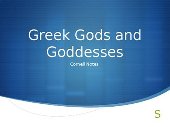 Greek God Presentation