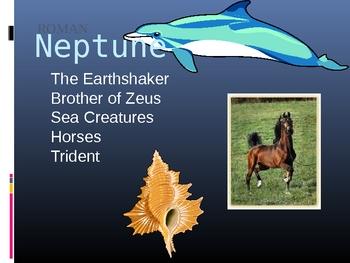 Greek Gods--25 Slide Powerpoint