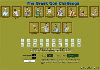 Greek Gods - Bill Burton