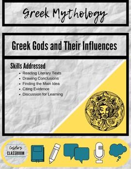 Greek Gods Chart