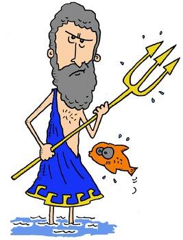 Greek Gods Clip Art!