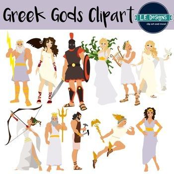 Greek Gods Clipart