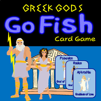 Greek Gods Go Fish - 24 Cards