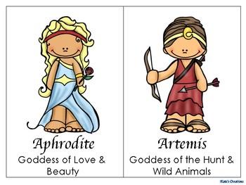 Greek Gods & Goddesses Posters