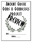 Greek Gods & Goddesses Research Packet