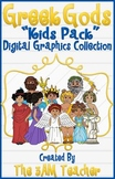 Greek Gods: Kids Pack Clip Art