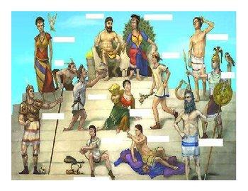 Greek Gods- Locate em! Activity