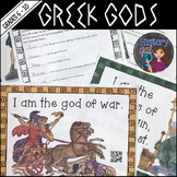 Greek Gods Scavenger Hunt {With and Without QR Codes}