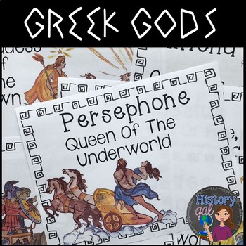 Greek Gods Printables