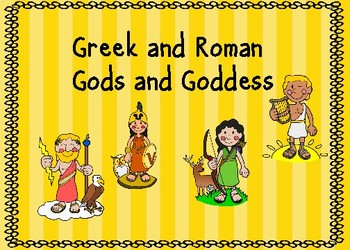 Greek Gods and Goddesses Boom Cards