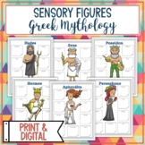 Greek Gods and Goddesses Sensory Figures