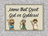 Greek Gods and Goddesses Who Am I - PowerPoint and Notes
