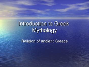 Greek Gods and Godesses