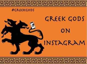 Greek Gods on Instagram