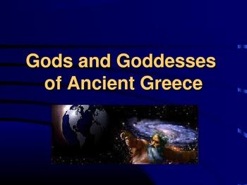 Greek Gods/Goddesses Encyclopedia Book Project