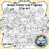 Greek Historical Figures Clip Art