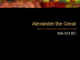 Greek History - Alexander the Great