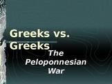 Greek History - Background to the Peloponnesian War