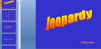 Greek Jeopardy Part II