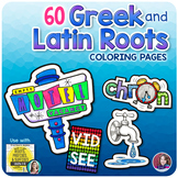 Greek and Latin Roots Activities Bundle