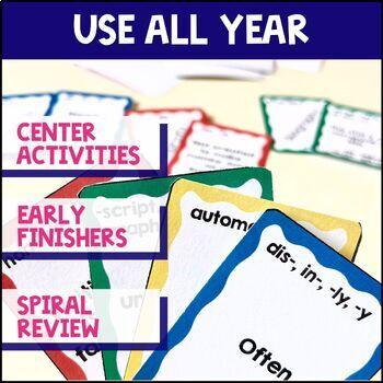 Greek & Latin Roots 10 Week Study: Lesson Plans, Games+ UNIT 3 Grades 4 5 6