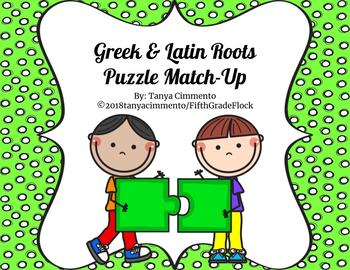 Greek & Latin Root Puzzle Match-Up