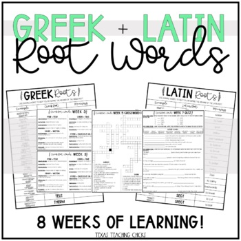 Greek & Latin Root Words
