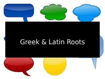 Root Words: dict