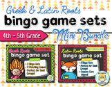 Greek & Latin Roots Bingo Game Set