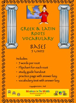 Greek & Latin Roots Bases Unit