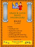 Greek & Latin Roots Bases Unit