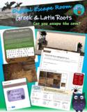 Greek & Latin Roots Digital Escape Room
