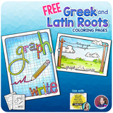 Greek and Latin Roots {FREE Printable Activity Pages - Unit 1}