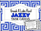 Greek & Latin Root Jazzy Task Cards
