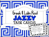 Greek & Latin Root Jazzy Task Cards